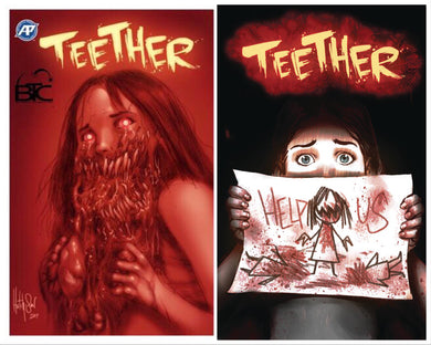 TEETHER #1 BTC EXCLUSIVE LTD TO 300 COPIES & #2 REGULAR COVER COMBO PACK