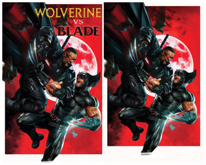 WOLVERINE VS BLADE SPECIAL #1 TRADE DRESS & EXCLUSIVE VIRGIN VARIANT SET