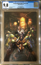 TMNT #101 ALAN QUAH EXCLUSIVE VIRGIN VARIANT WITH GRADED OPTIONS
