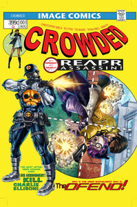 CROWDED #1 ALAN QUAH EXCLUSIVE SIGNED W/ COA &