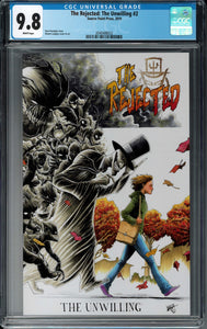 REJECTED UNWILLING ONE SHOT CGC 9.8