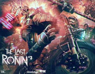 TMNT THE LAST RONIN #3 JOHN GIANG EXCLUSIVE VARIANT