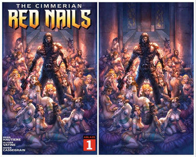 THE CIMMERIAN RED NAILS #1 ALAN QUAH EXCLUSIVE OPTIONS