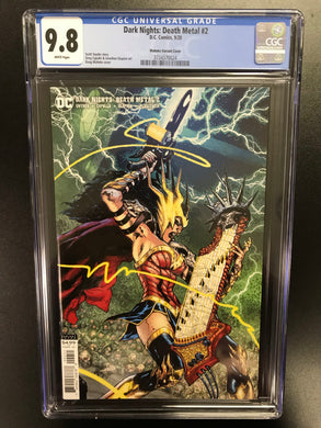 DARK NIGHTS DEATH METAL #2 1:25 MAHNKE VARIANT CGC 9.8