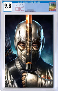 SNAKE EYES DEADGAME #2 MICO SUAYAN EXCLUSIVE VIRGIN VARIANT COVER CGC 9.8