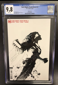 DARK NIGHTS DEATH METAL #3 CAPULLO 1:100 SKETCH VARIANT CGC 9.8