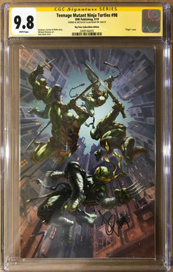TMNT #98 EXCLUSIVE VIRGIN VARIANT CGC 9.8 SIGNED BY ALAN QUAH
