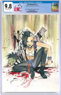 NO HEROINE #1 PEACH MOMOKO EXCLUSIVE VIRGIN VARIANT CGC 9.8