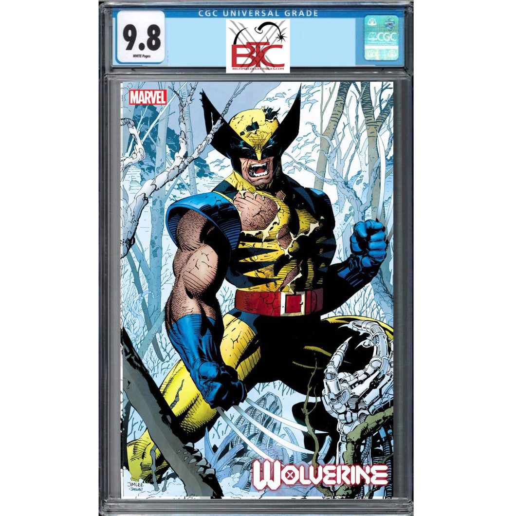 WOLVERINE #1 JIM LEE 1:100 HIDDEN GEM VARIANT CGC 9.8 02/19/20 FOC 01/27/19