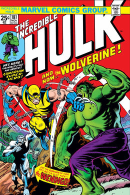 INCREDIBLE HULK #181 FACSIMILE EDITION 03/27/19 FOC 03/04/19