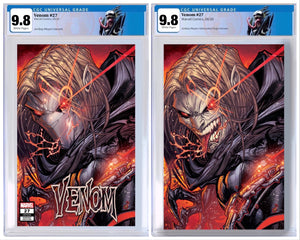 VENOM #27 JONBOY MEYERS EXCLUSIVE CGC GRADED OPTIONS