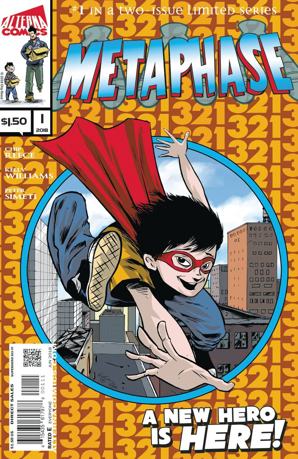 METAPHASE #1 (OF 2) ASM300 COVER SWIPE (ADVANCE ORDER)
