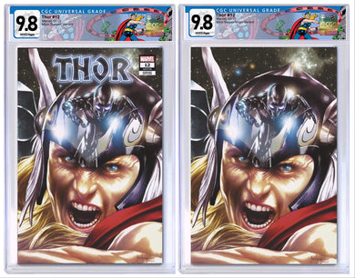 THOR #12 MICO SUAYAN EXCLUSIVE VARIANT CGC OPTIONS 02/17/21