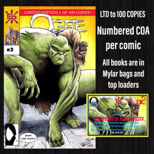 OGRE #3 BTC & CC EXCLUSIVE LIMITED TO 100 COPIES