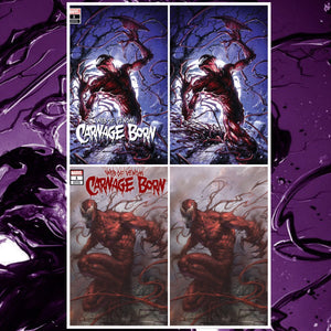 Web of Venom: Carnage Born #1 Crain and Parrillo Exclusive Virgin 4 Pack Set