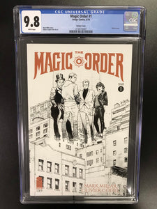 MAGIC ORDER #1 SKETCH VARIANT CGC 9.8