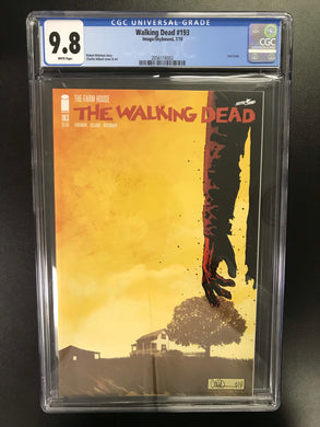WALKING DEAD #193 LAST ISSUE CGC 9.8