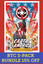 CAPTAIN AMERICA #701 NAKAYAMA DEADPOOL VARIANT 3-PACK BUNDLE 15%OFF FOC 04/09 (ADVANCE ORDER)
