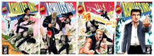 ACHILLES INC #1-#4 BTC EXCLUSIVE CONNECTING VARIANT COVER SET WITH RARE #4B VIRGIN GATEFOLD COVER