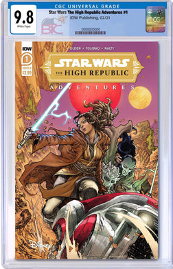 STAR WARS HIGH REPUBLIC ADVENTURES #1 CGC 9.8 WITH FREE RAW COPY