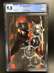 SNAKE EYES DEADGAME #2 COVER A CGC 9.8
