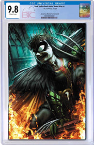 DARK NIGHTS DEATH METAL ROBIN KING #1  1:25 JEREMY ROBERTS VARIANT CGC 9.8 10/21/20