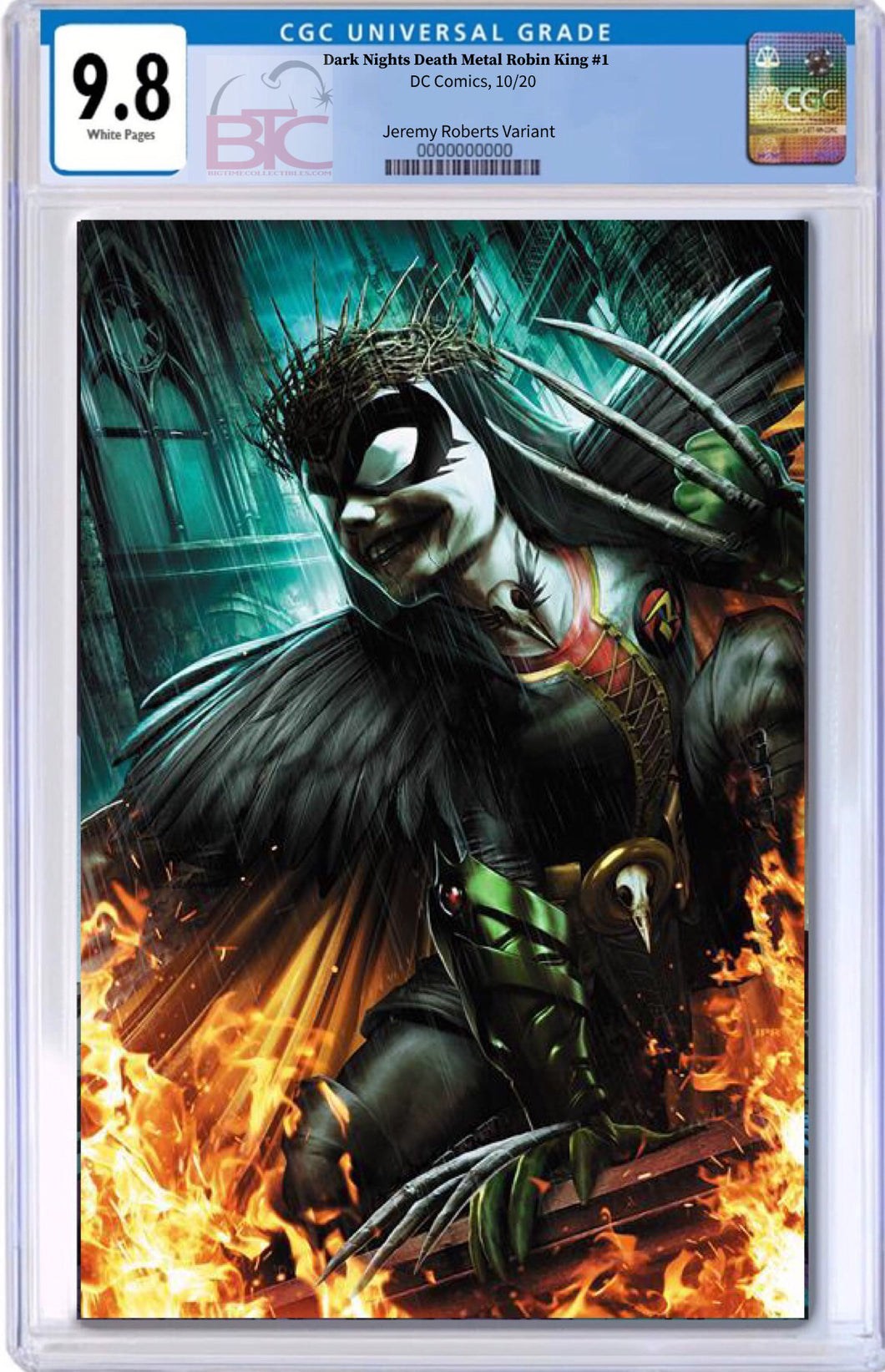 ROBIN KING CGC Graded 9.8 Guaranteed PRESALE 10//10//20 DARK NIGHTS DEATH METAL