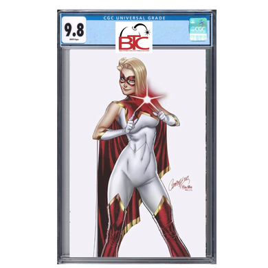 STAR #1 J SCOTT CAMPBELL 1:200 VIRGIN VARIANT CGC 9.8 FOC 12/09/19