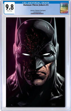 BATMAN THREE JOKERS #1 (OF 3) JASON FABOK VARIANT CGC 9.8