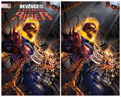 REVENGE OF COSMIC GHOST RIDER #1 CLAYTON CRAIN EXCLUSIVE VARIANTS