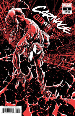 CARNAGE BLACK WHITE AND BLOOD #1 (OF 4) OTTLEY VARIANT 03/24/21