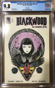 BLACKWOOD MOURNING AFTER #3 (OF 4) PEACH MOMOKO VARIANT CGC 9.8
