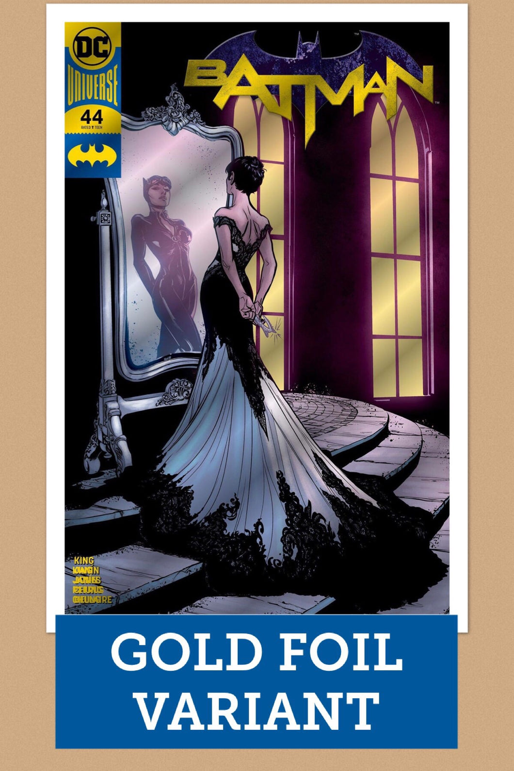BATMAN #44 GOLD FOIL VARIANT LTD TO 1000 COPIES PREORDER
