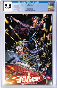 JOKER #1 MARK BROOKS EXCLUSIVE TEAM VARIANT CGC 9.8