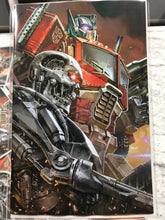 TRANSFORMERS VS TERMINATOR #1 KAEL NGU CONVENTION EXCLUSIVE LIMITED TO 600 COPIES
