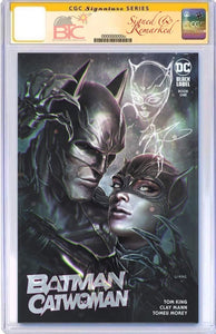 BATMAN CATWOMAN #1 JOHN GIANG EXCLUSIVE VARIANT CGC OPTIONS
