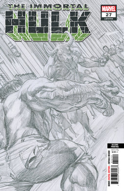 IMMORTAL HULK #27 2ND PTG ALEX ROSS VARIANT 01/15/20 FOC 12/16/19