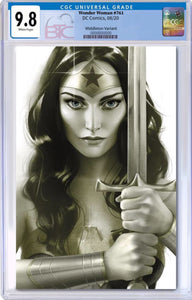 WONDER WOMAN #761 J MIDDLETON CARD STOCK VARIANT CGC 9.8 10/25/20