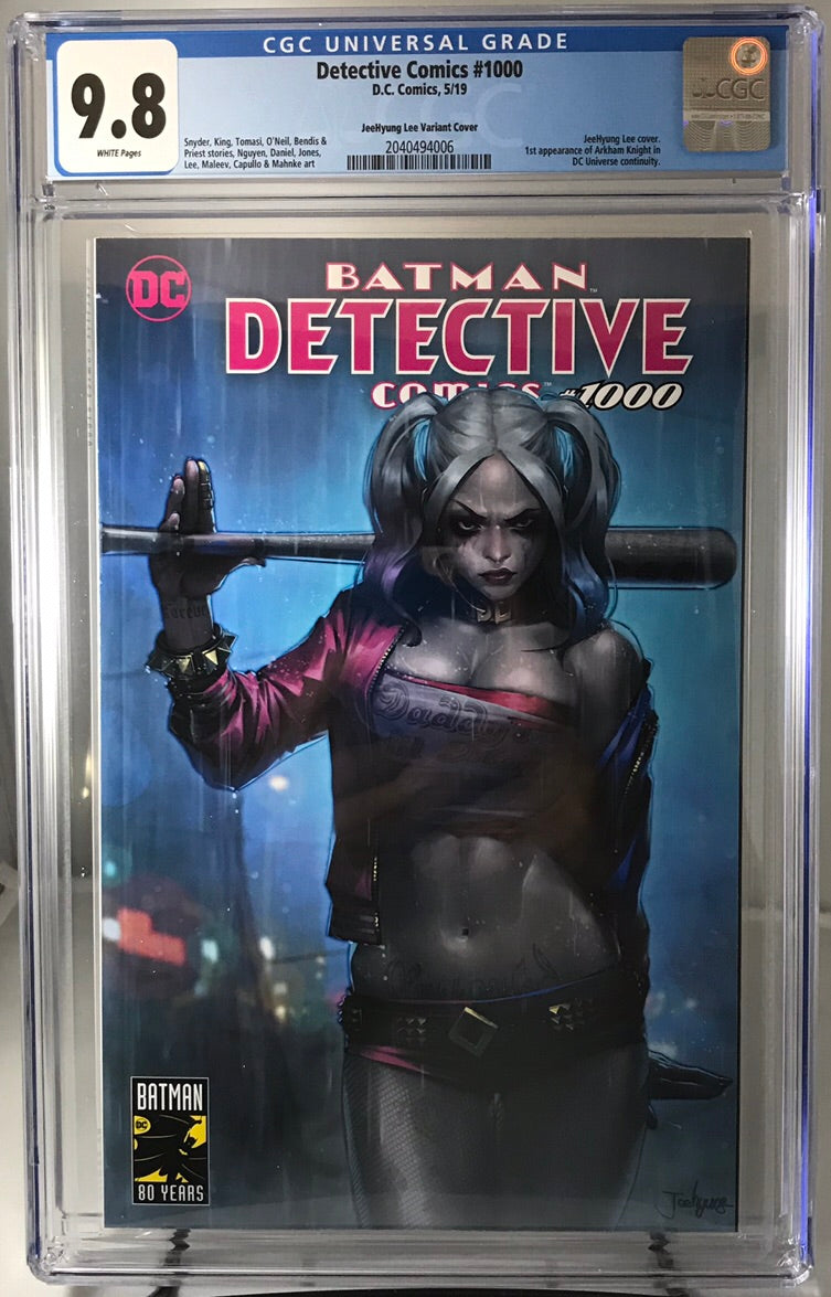 DETECTIVE COMICS #1000 JEEHYUNG LEE VARIANT CGC 9.8