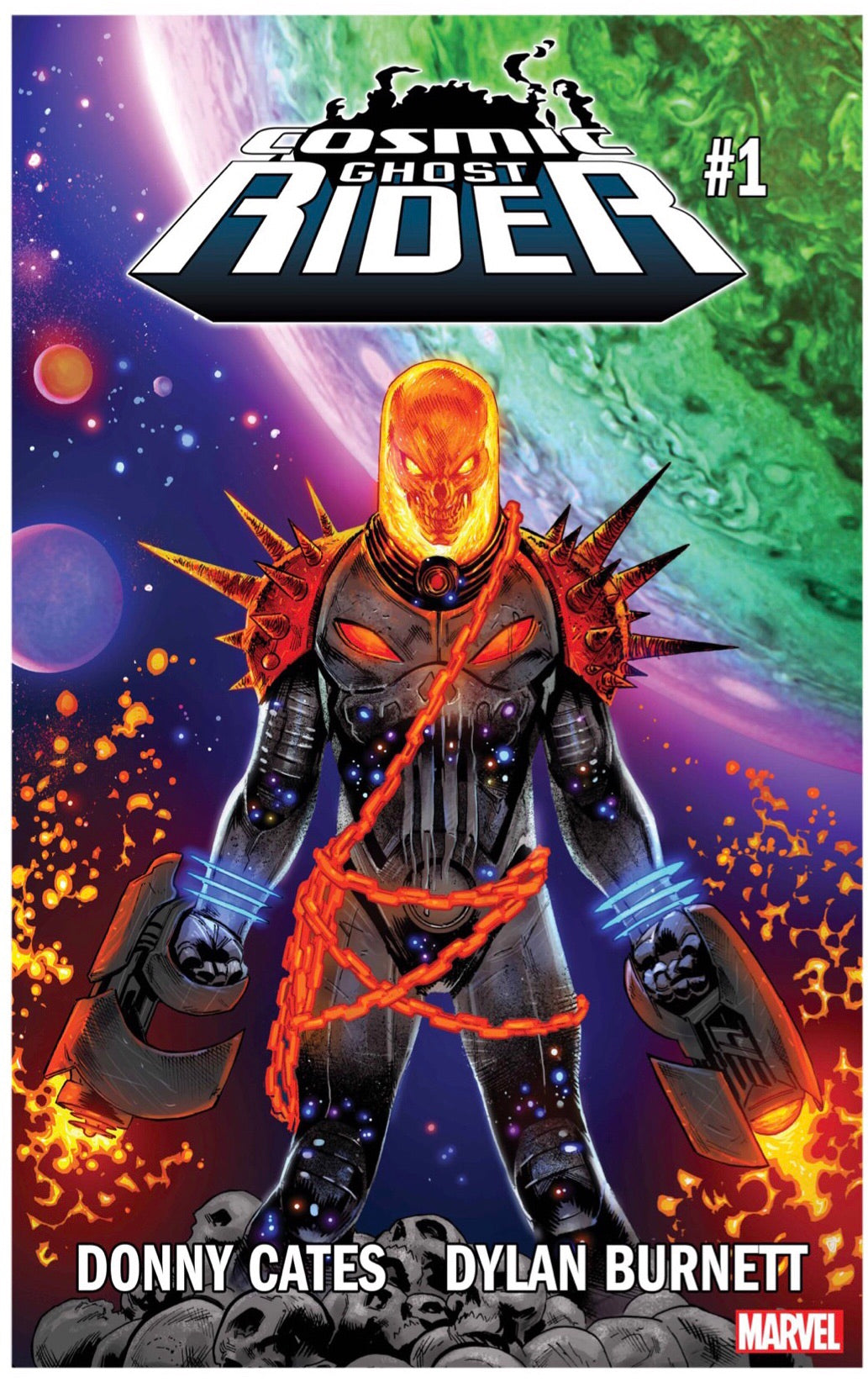 COSMIC GHOST RIDER #1 (OF 5) FOC 06/11 (ADVANCE ORDER)