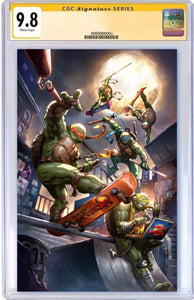 TMNT #103 DEXTER SOY EXCLUSIVE VIRGIN VARIANT COVER RAW, SIGNED & GRADED OPTIONS