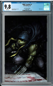 TMNT JENNIKA #1 INHYUK LEE EXCLUSIVE VIRGIN VARIANT CGC 9.8