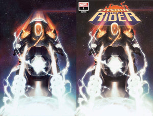 COSMIC GHOST RIDER #1 GERALD PAREL EXCLUSIVE TRADE DRESS & VIRGIN VARIANT SET