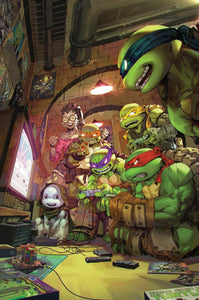 TMNT #101, #102, #103, #104 #tmntoffduty BTC EXCLUSIVE SET 03/2020