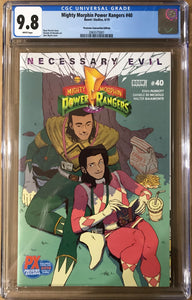 MIGHTY MORPHIN POWER RANGERS #40 PREVIEWS SDCC 2019 EDITION CGC 9.8