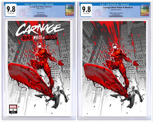 CARNAGE BLACK WHITE AND BLOOD #1 KAEL NGU VARIANT CGC OPTIONS