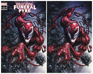 WEB OF VENOM FUNERAL PYRE #1 CLAYTON CRAIN EXCLUSIVE VARIANTS OPTIONS