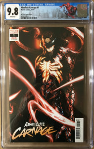 ABSOLUTE CARNAGE #1 (OF 5) DELLOTTO 1:25 CULT OF CARNAGE VARIANT CGC 9.8