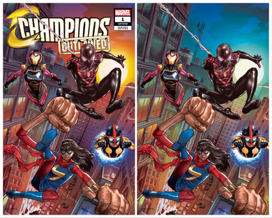CHAMPIONS #1 MICO SUAYAN EXCLUSIVE VARIANT