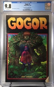 GOGOR#1 BTC EXCLUSIVE RAW & CGC GRADED OPTION  PRESALE STARTS FRIDAY 04/19/19 2PM CST